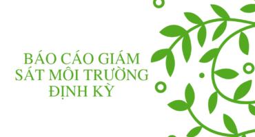 Báo cáo giám sát môi trường định kỳ - công ty môi trường Envico
