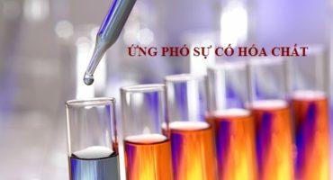 tư vấn biện pháp ứng phó sự cố hóa chất