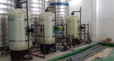 Hệ thống xử lý nước cấp 4000 lít/giờ