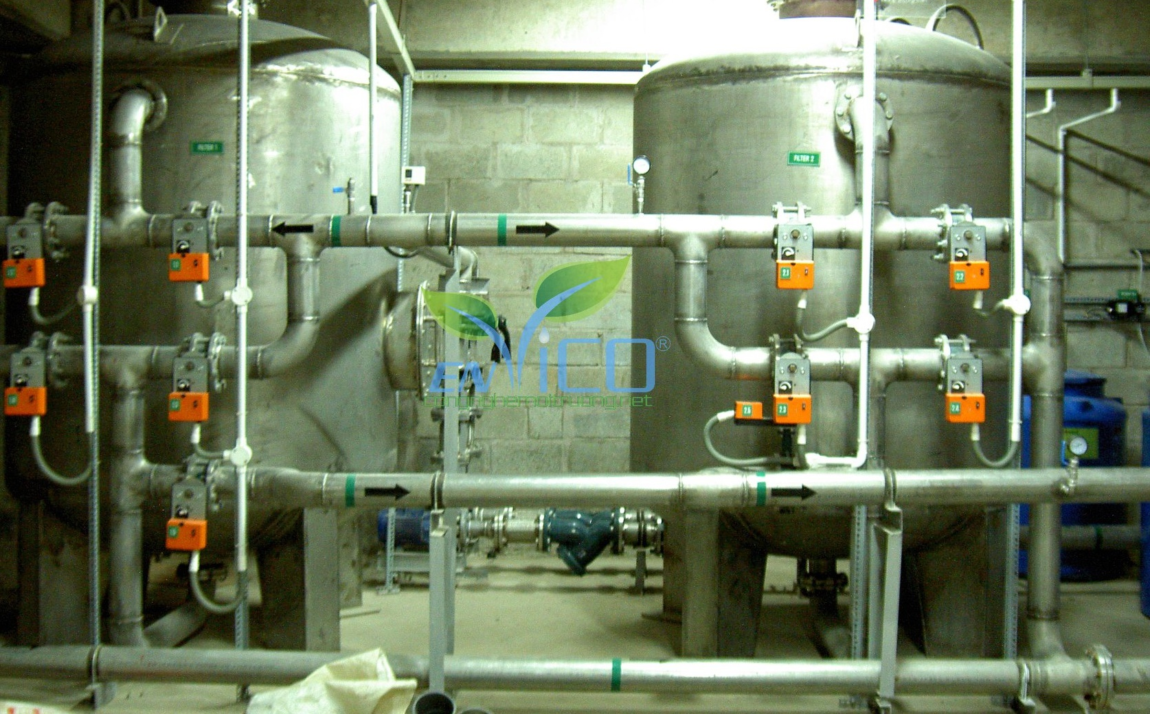 Sản xuất nước đóng chai nước đá