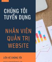 Tuyển nhân viên Website